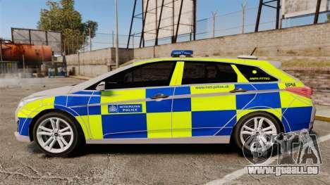 Hyundai i40 2013 Metropolitan Police [ELS] pour GTA 4 est une gauche
