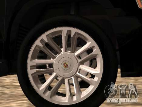 Cadillac Escalade 2010 pour GTA San Andreas vue de droite