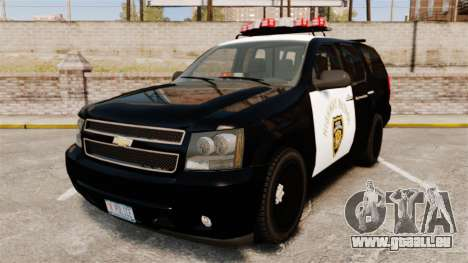Chevrolet Tahoe 2007 LCHP [ELS] für GTA 4