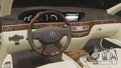 Mercedes-Benz S65 (W221) für GTA 4 Seitenansicht