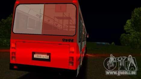 LIAZ-5256 pour GTA Vice City vue de dessous