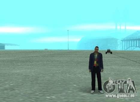 Nouveau Andre pour GTA San Andreas troisième écran