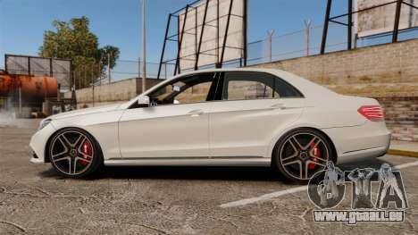 Mercedes-Benz E63 AMG 2014 v2.0 für GTA 4 linke Ansicht