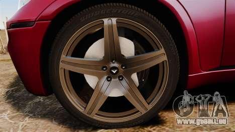 BMW X5M v2.0 pour GTA 4 Vue arrière