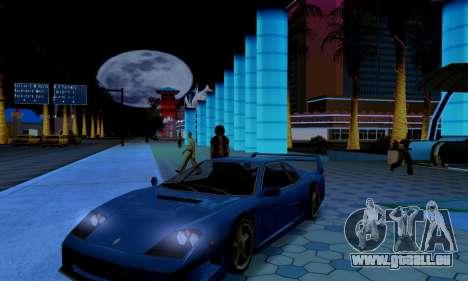 ENB CUDA 2014 for Low PC pour GTA San Andreas quatrième écran