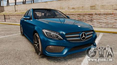 Mercedes-Benz C-Class (W205) AMG 2014 pour GTA 4