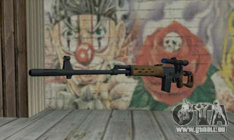 Dragunov Sniper Rifle für GTA San Andreas