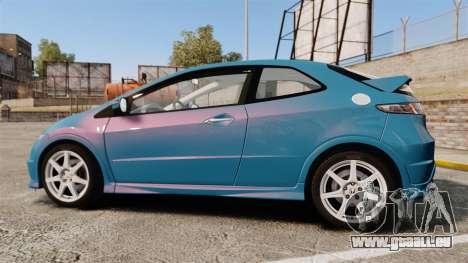 Honda Civic Type R 2007 für GTA 4 linke Ansicht