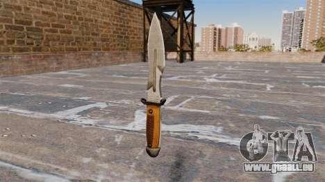 Couteau de Crysis 2 pour GTA 4 secondes d'écran