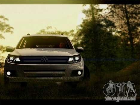 Volkswagen Tiguan 2012 für GTA San Andreas Seitenansicht