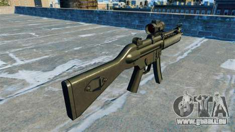 Mitraillette MP5 RIS Nom900a pour GTA 4 secondes d'écran