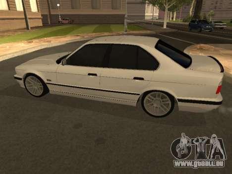 BMW 525 Smotra pour GTA San Andreas laissé vue