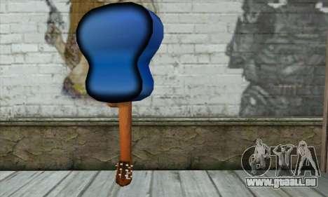 Guitare pour GTA San Andreas deuxième écran