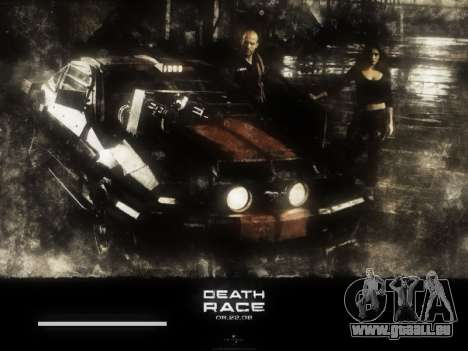 Boot-screens Death Race für GTA San Andreas fünften Screenshot