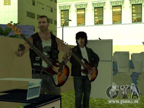 Le concert Film pour GTA San Andreas cinquième écran