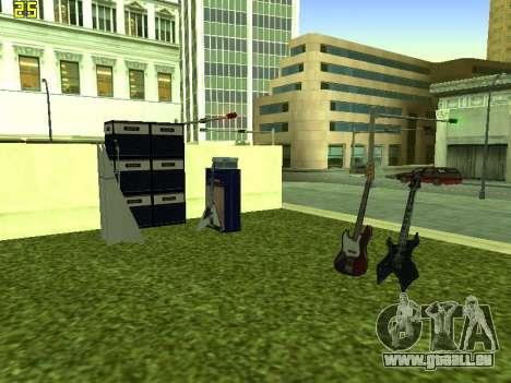 Le concert Film pour GTA San Andreas quatrième écran