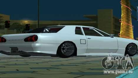 Elegy 280sx v2.0 für GTA San Andreas Innen
