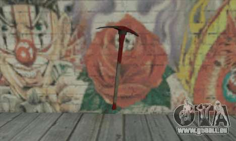 Pickaxe pour GTA San Andreas deuxième écran