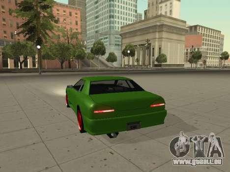 Elegy by X3noNon pour GTA San Andreas sur la vue arrière gauche