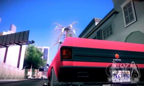 GTA V Picador für GTA San Andreas zurück linke Ansicht