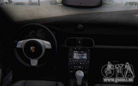 Porsche 911 Turbo pour GTA San Andreas vue de dessous