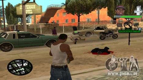C-HUD by Tyler pour GTA San Andreas troisième écran