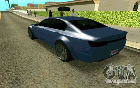 GTA V Fugitive pour GTA San Andreas laissé vue