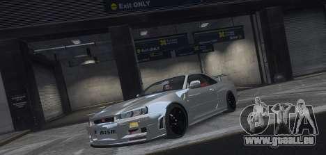 Nissan Skyline GTR-34 Nismo Z-Tune pour GTA 4