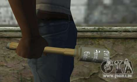 Grenade pour GTA San Andreas troisième écran