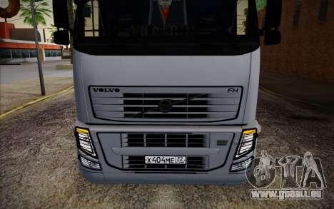 Volvo FH16 440 für GTA San Andreas Innenansicht