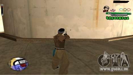 C-HUD By Fedya pour GTA San Andreas deuxième écran
