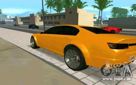 GTA V Fugitive Version 2 FIXED für GTA San Andreas linke Ansicht