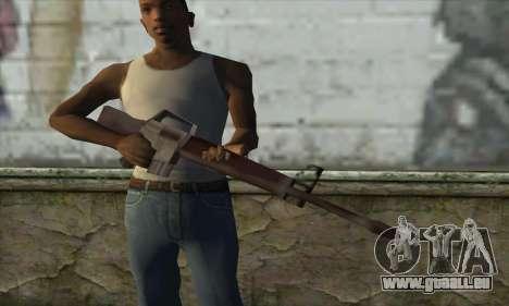 M16A1 pour GTA San Andreas troisième écran