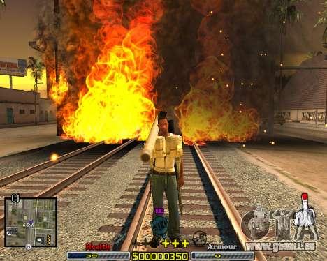 C-HUD Crime Ghetto für GTA San Andreas