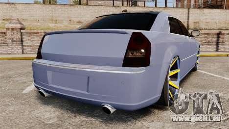 Chrysler 300C SRT8 für GTA 4 hinten links Ansicht