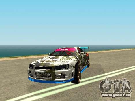 Nissan Skyline Drift für GTA San Andreas