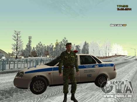 Le skin du combattant SIÈCLES MIA pour GTA San Andreas quatrième écran