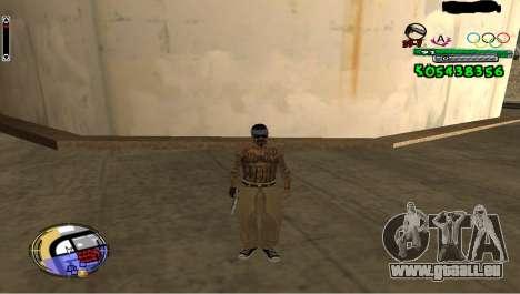 C-HUD By Fedya pour GTA San Andreas