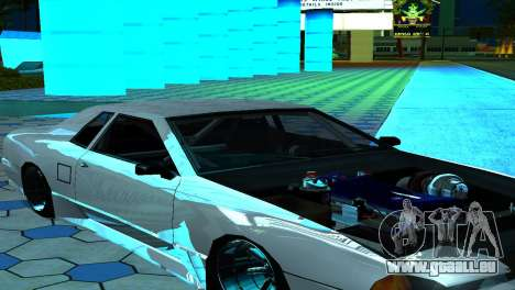 Elegy 280sx v2.0 für GTA San Andreas obere Ansicht