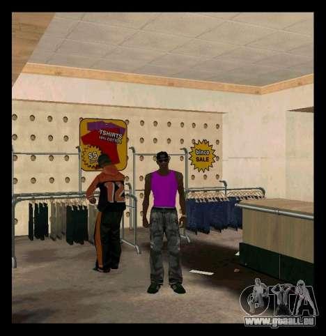 Vert et Violet Mike pour GTA San Andreas deuxième écran
