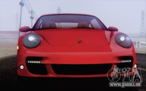 Porsche 911 Turbo pour GTA San Andreas roue