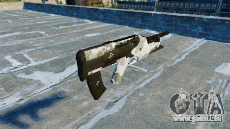 Maschinenpistole Filine v2. 0 für GTA 4 Sekunden Bildschirm