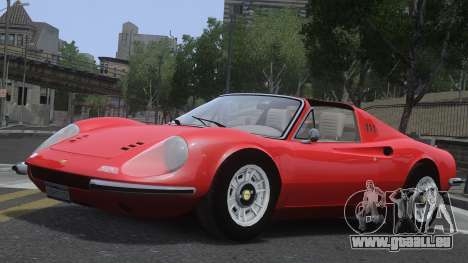 Ferrari Dino 246 GTS pour GTA 4