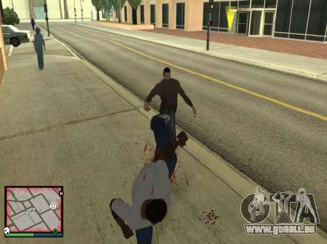 GTA 5 HUD v2 für GTA San Andreas dritten Screenshot