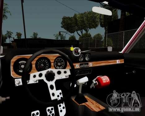 Ford Falcon Sprint 1972 pour GTA San Andreas vue intérieure