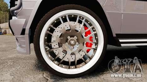 Mercedes-Benz G65 2012 AMG Hamann pour GTA 4 Vue arrière