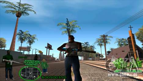 C-HUD Groove by HARDy pour GTA San Andreas