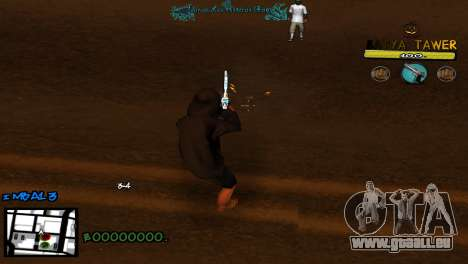 C-Hud by Baton Batya für GTA San Andreas dritten Screenshot