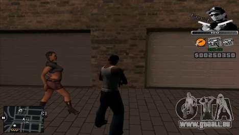 C-Hud Eazy-E pour GTA San Andreas deuxième écran
