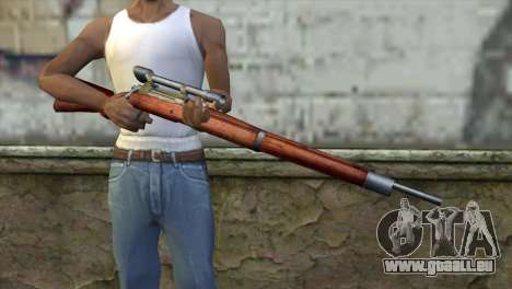 Springfield Sniper pour GTA San Andreas troisième écran